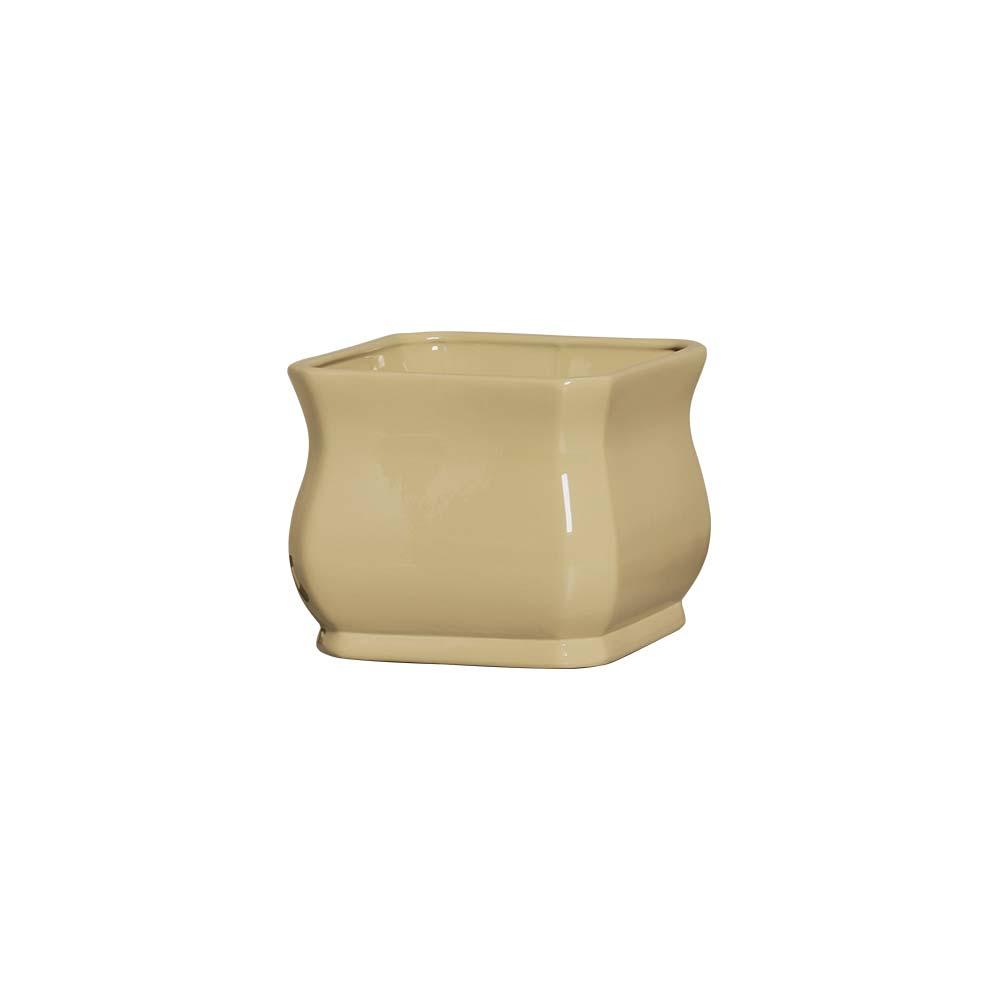 Cachepot Florescer I Cappuccino