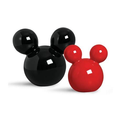 Escultura Cabeça Mickey Vermelha P