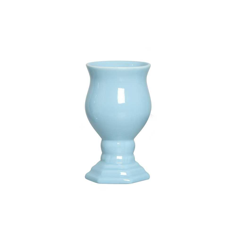 Vaso Ravena II Esmaltado Azul