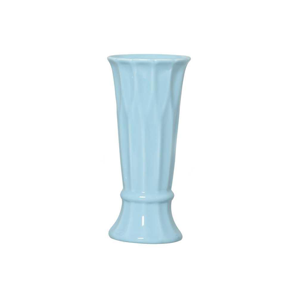 Vaso Arame I Esmaltado Azul