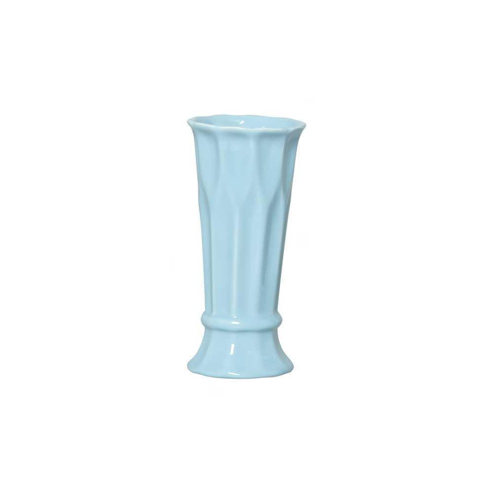 Vaso Arame II Esmaltado Azul