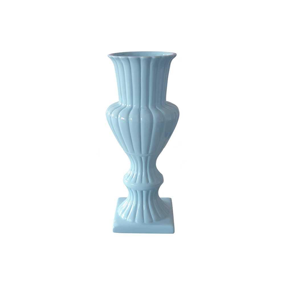 Vaso Mosaico Esmaltado Azul