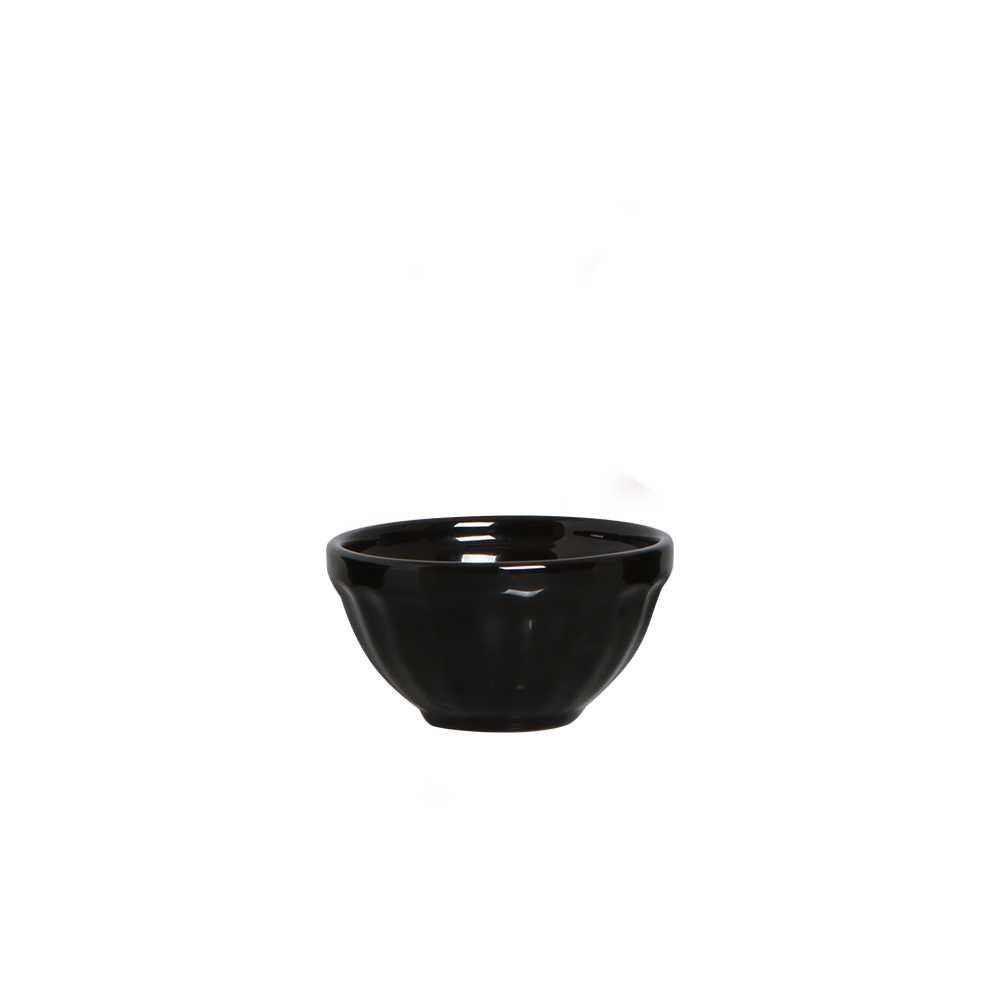 Bowl Relevo II Esmaltada Preto