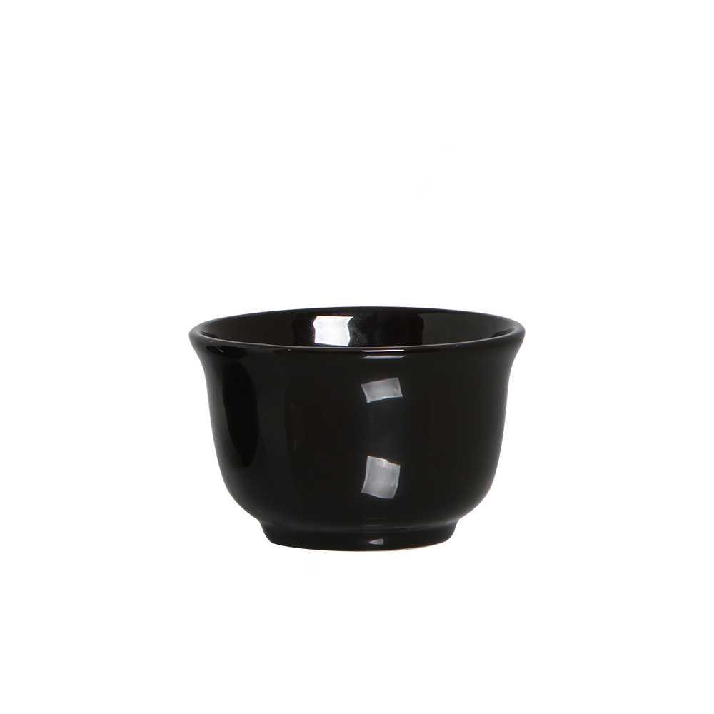 Bowl Consume Esmaltada Preto