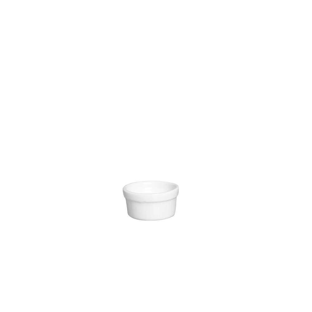 Ramequim III Esmaltada Branco