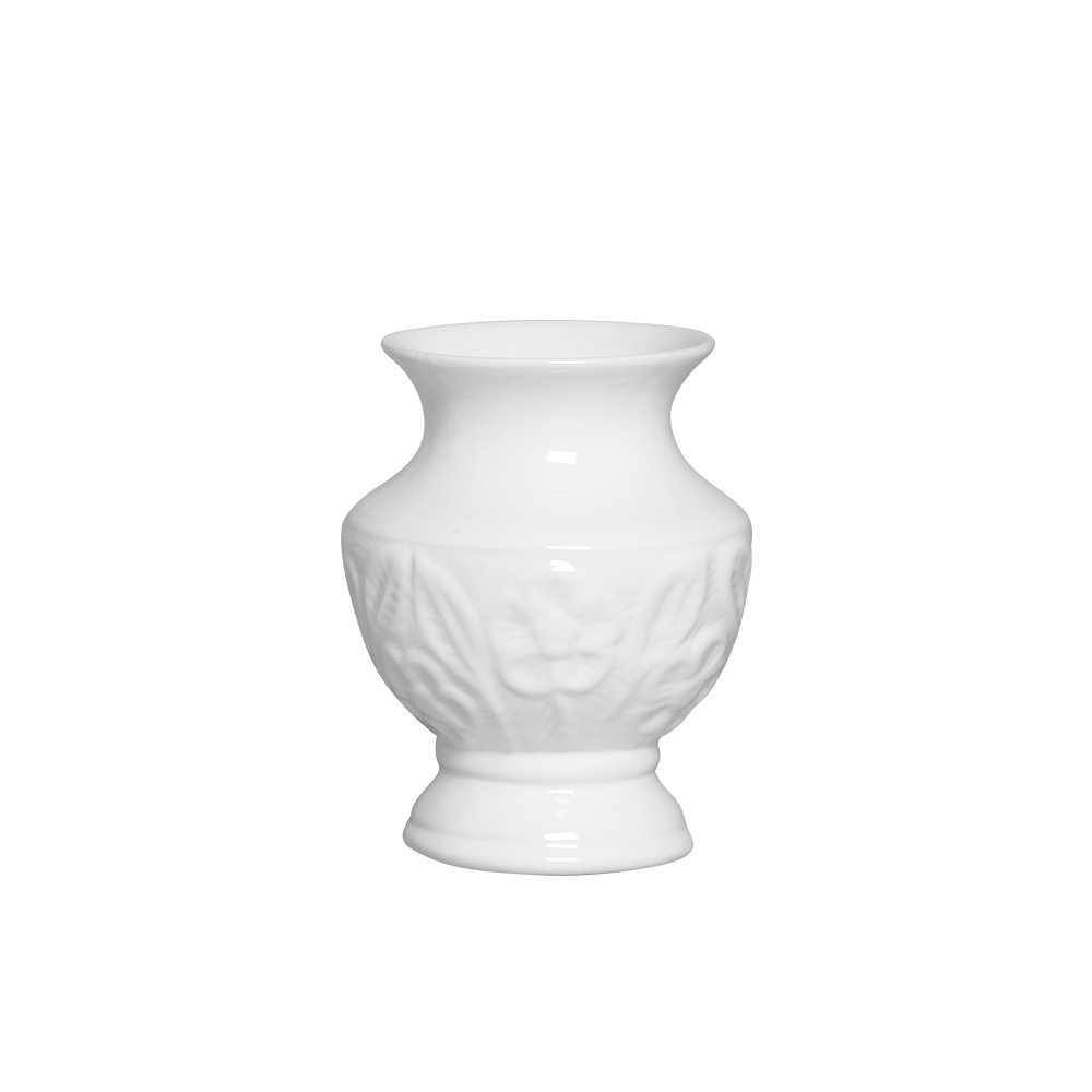 Vaso Frescor Esmaltada Branco