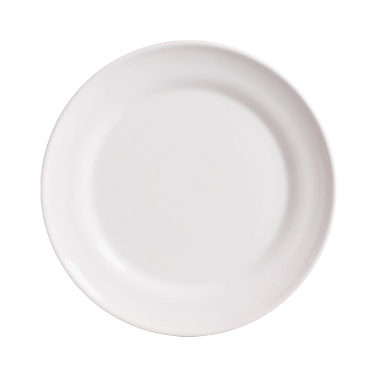 Prato Raso Requinte Lisa Branco Clássico