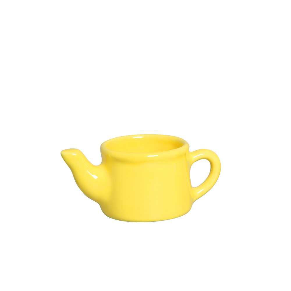 Regador Mini Esmaltada Amarelo