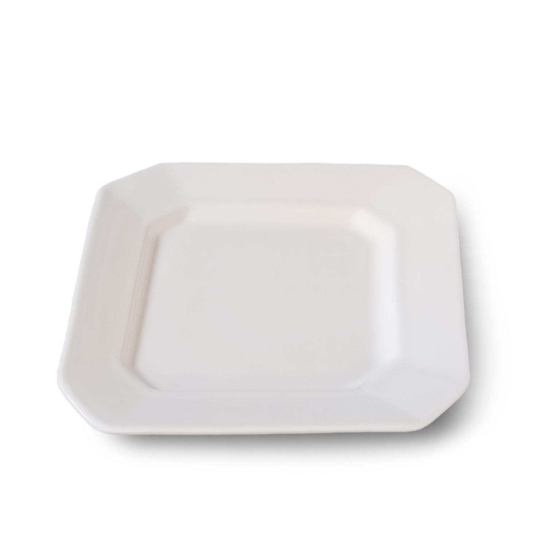 Requinte quadrada Esmaltada Branca