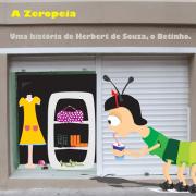 CD - Vários Artistas - A Zeropéia - Uma história de Herbert de Souza, o Betinho