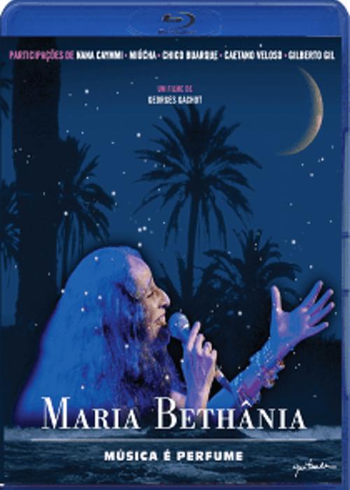 Blu-Ray - Maria Bethânia - Música é Perfume - Um filme de Georges Gachot