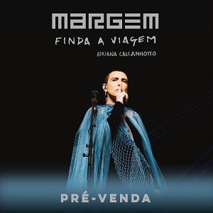 CD - Adriana Calcanhotto - Margem, finda a viagem