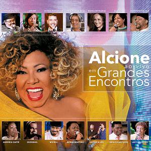 CD - Alcione - Ao Vivo Em Grandes Encontros