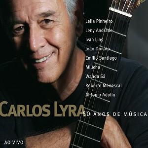 CD - Carlos Lyra - 50 Anos de Música