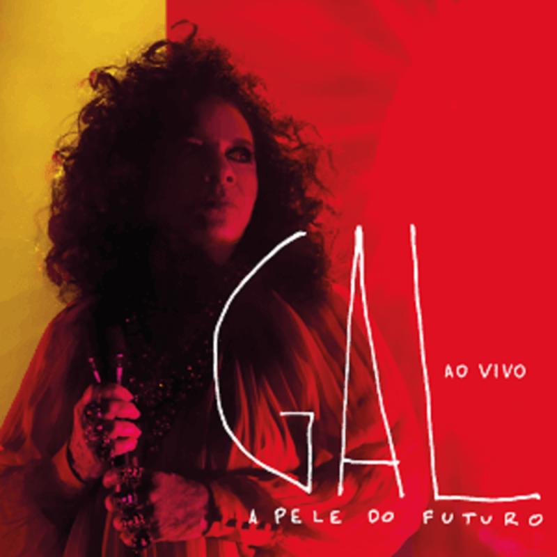 CD Duplo - Gal Costa - A Pele do Futuro Ao Vivo