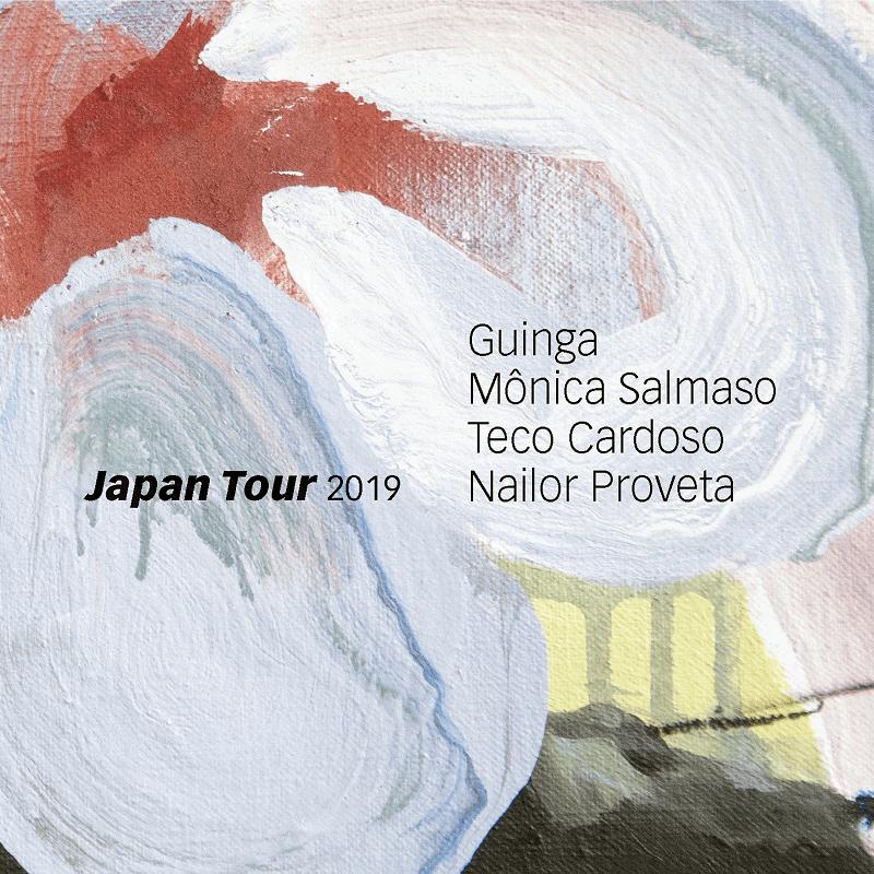 CD - Guinga, Mônica Salmaso, Teco Cardoso e Nailor Proveta - Japan Tour 2019  - BISCOITO FINO
