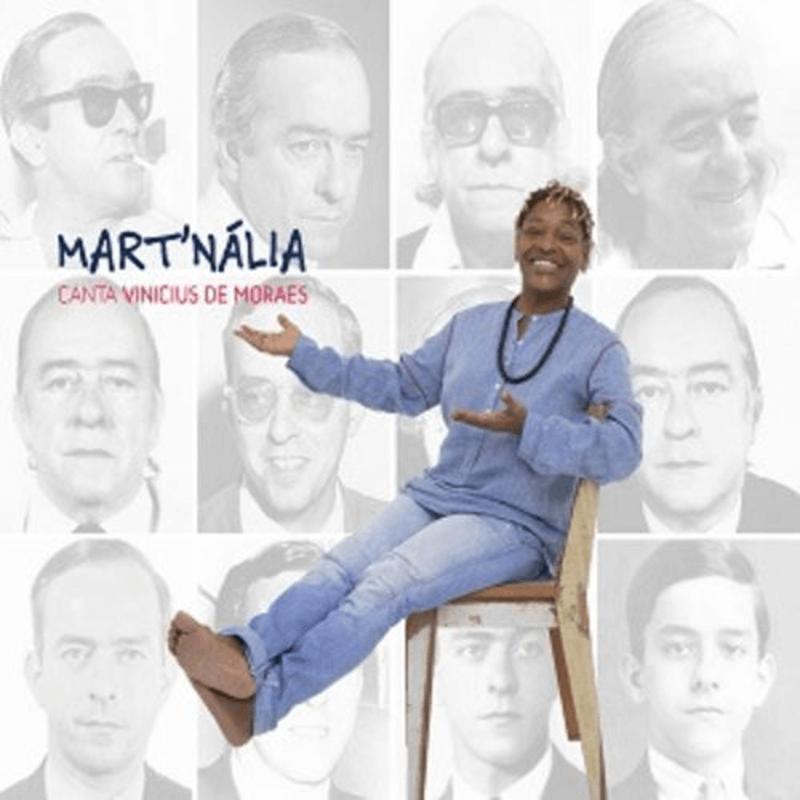CD - Mart'nália - Canta Vinicius de Moraes