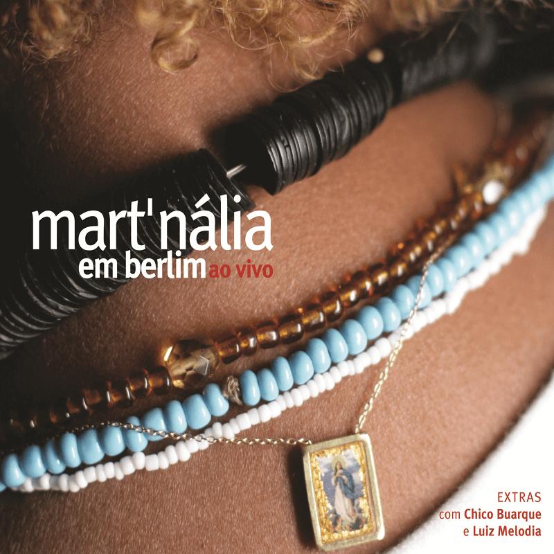 CD - Mart'nália - Em Berlim Ao Vivo