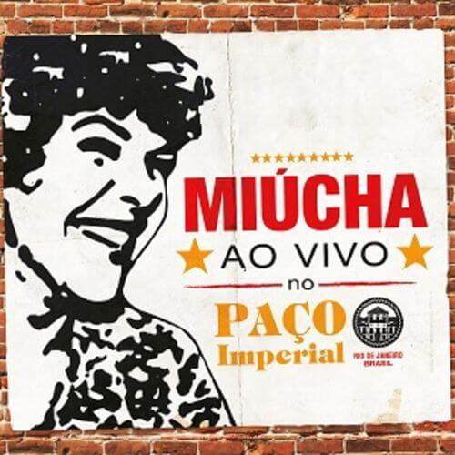 CD - Miúcha  - Ao Vivo no Paço Imperial