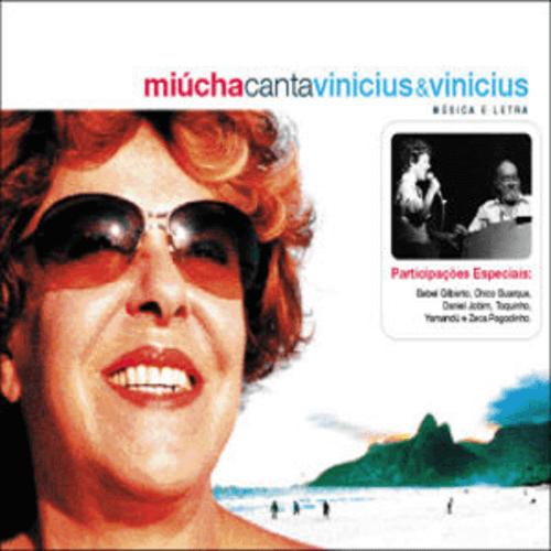 CD - Miúcha  - Canta Vinicius & Vinicius