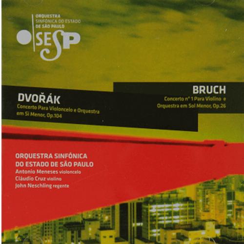CD - OSESP - DVORÁK e BRUCH