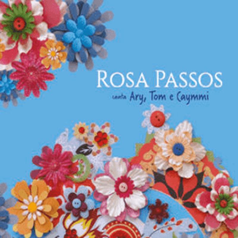 CD - Rosa Passos - Canta Ary, Tom e Caymmi  - BISCOITO FINO