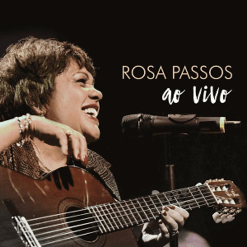CD - Rosa Passos - Rosa Passos Ao Vivo