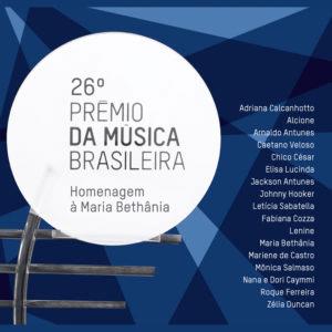 CD - Vários Artistas - 26º Prêmio da Música Brasileira - Homenagem a Maria Bethânia