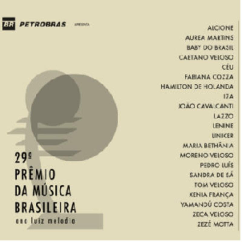 CD - Vários Artistas - 29º Prêmio da Música Brasileira - Ano Luiz Melodia