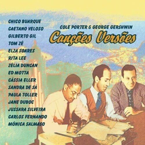 CD - Vários Artistas - Canções Versões - C. Porter & G. Gershwin