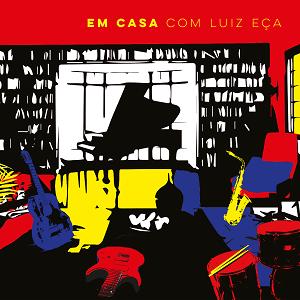 CD - Vários Artistas - Em Casa com Luiz Eça