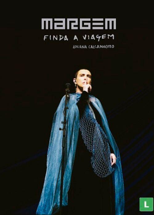 DVD - Adriana Calcanhotto - Margem, finda a viagem