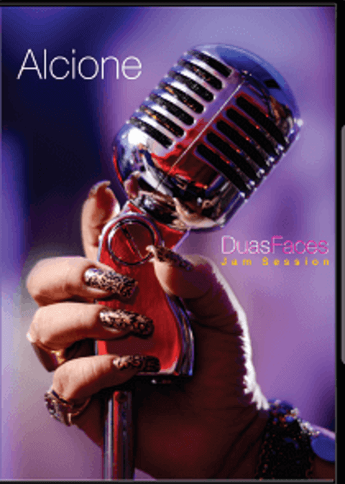 DVD - Alcione - Duas Faces - Jam Sessions