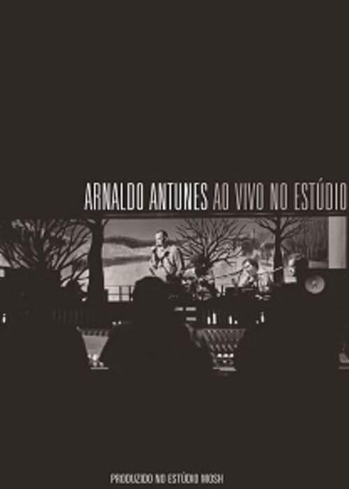 DVD - Arnaldo Antunes - Ao Vivo no Estúdio