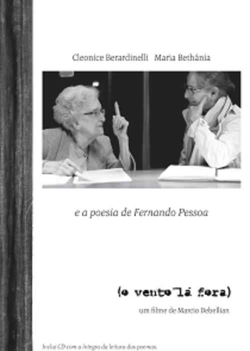DVD + CD + Livreto com Poesias - Maria Bethânia e Professora Cleonice Berardinelli - O Vento Lá Fora  - BISCOITO FINO
