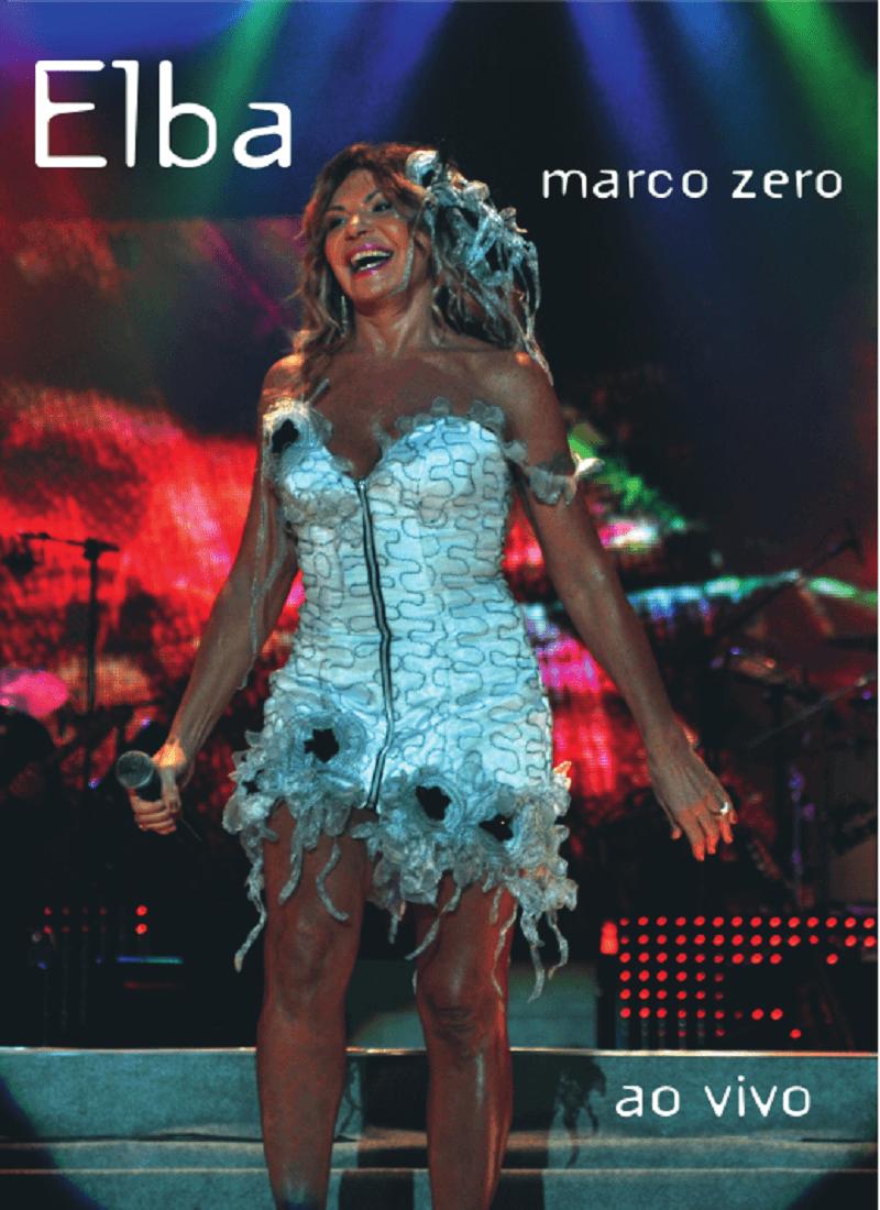 DVD - Elba Ramalho - Marco Zero Ao Vivo