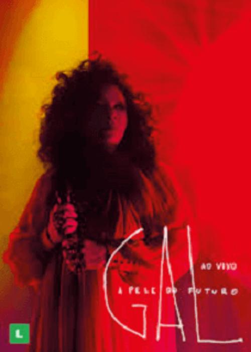 DVD - Gal Costa - A Pele do Futuro Ao Vivo  - BISCOITO FINO