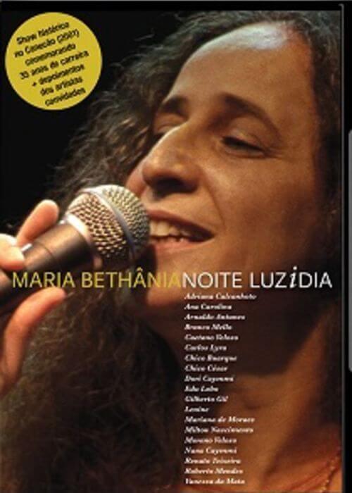 DVD - Maria Bethânia - Noite Luzidia