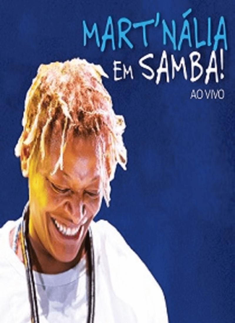 DVD - Mart'nália - Em Samba! Ao Vivo