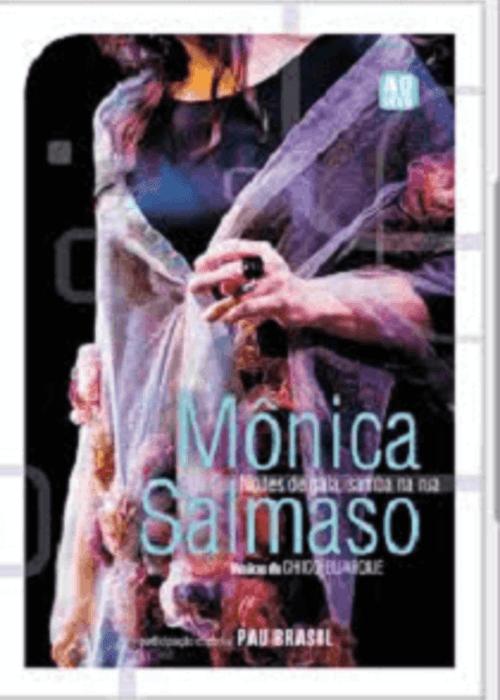 DVD - Mônica Salmaso - Noites de Gala, Samba na Rua  - BISCOITO FINO