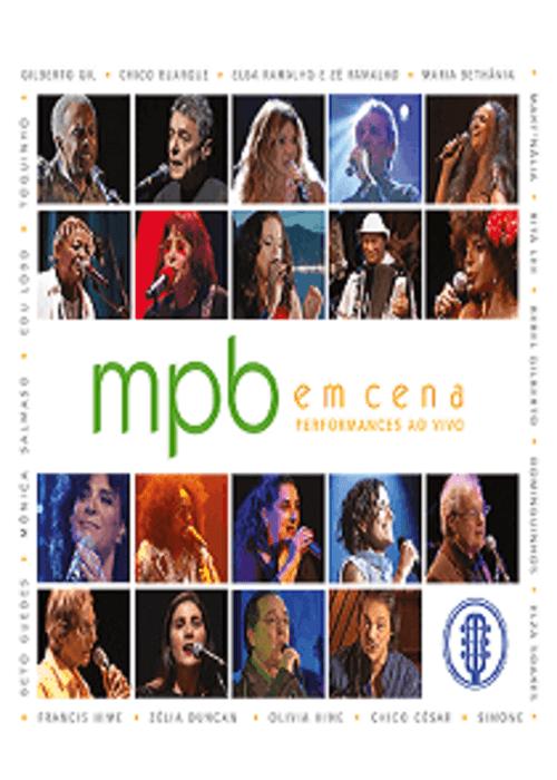DVD - MPB em Cena - Performances Ao Vivo