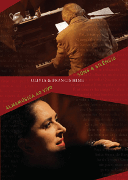 DVD - Olivia Hime e Francis Hime - Almamúsica Ao Vivo