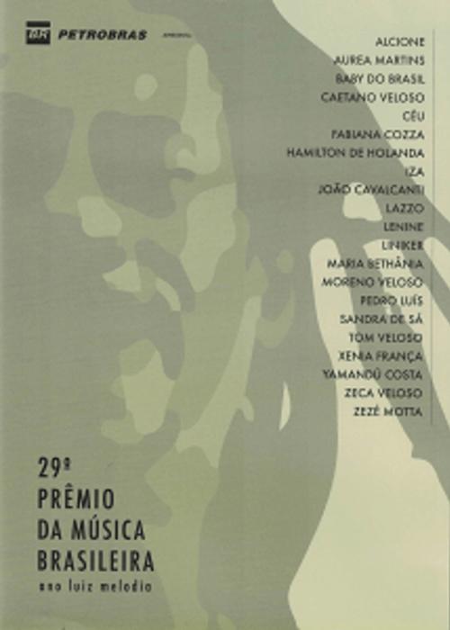 DVD - Vários Artistas - 29º Prêmio da Música Brasileira - Ano Luiz Melodia