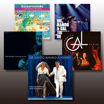 KIT - 5 CDs Duplos