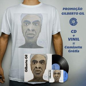 KIT - CD + Vinil + Camiseta - Gilberto Gil - OK OK OK