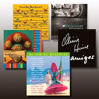 KIT II - 5 CDs  - BISCOITO FINO