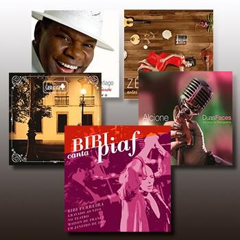 KIT III - 5 CDs  - BISCOITO FINO