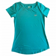Camiseta Speedo Interlock UV50+ Feminina