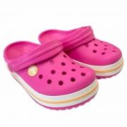 Crocs Infantil Crocband Clog K Elet PINK