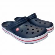 Crocs Infantil Crocband NVY- Marinho e Branco